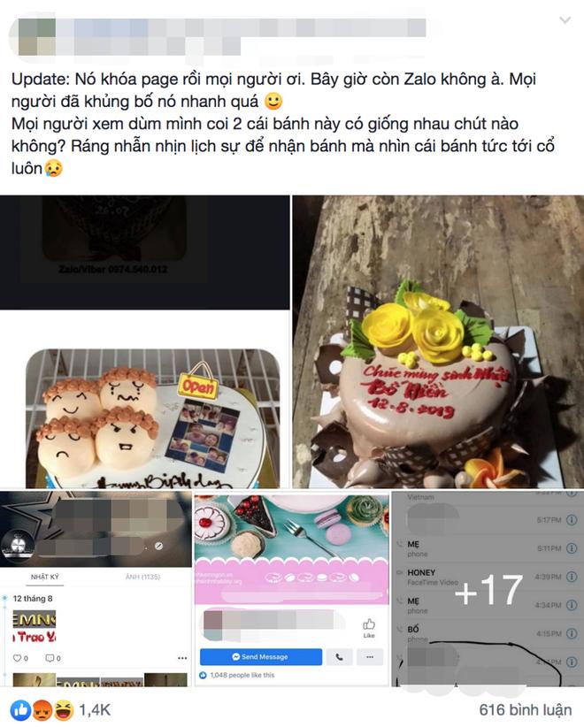 Đặt bánh kem online mừng sinh nhật bố chồng, nàng dâu ngã ngửa khi nhận được sản phẩm khác một trời một vực yêu cầu của mình - ảnh 1