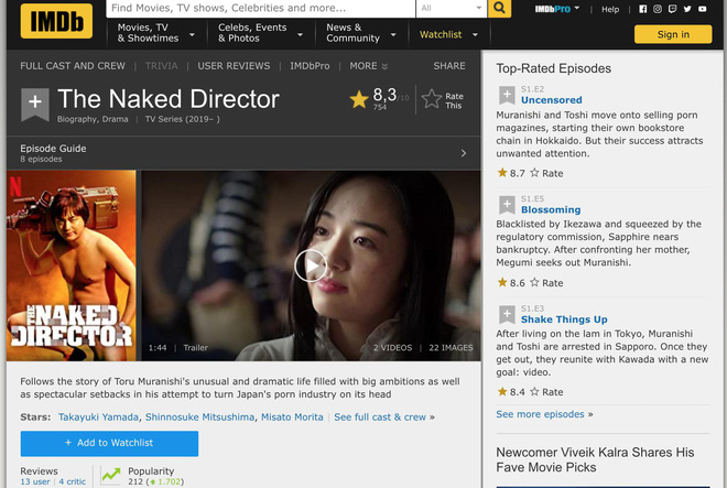 The Naked Director: Chuyện về ông hoàng phim người lớn Nhật Bản có gì mà được khen ngợi hết lời? - Ảnh 15.