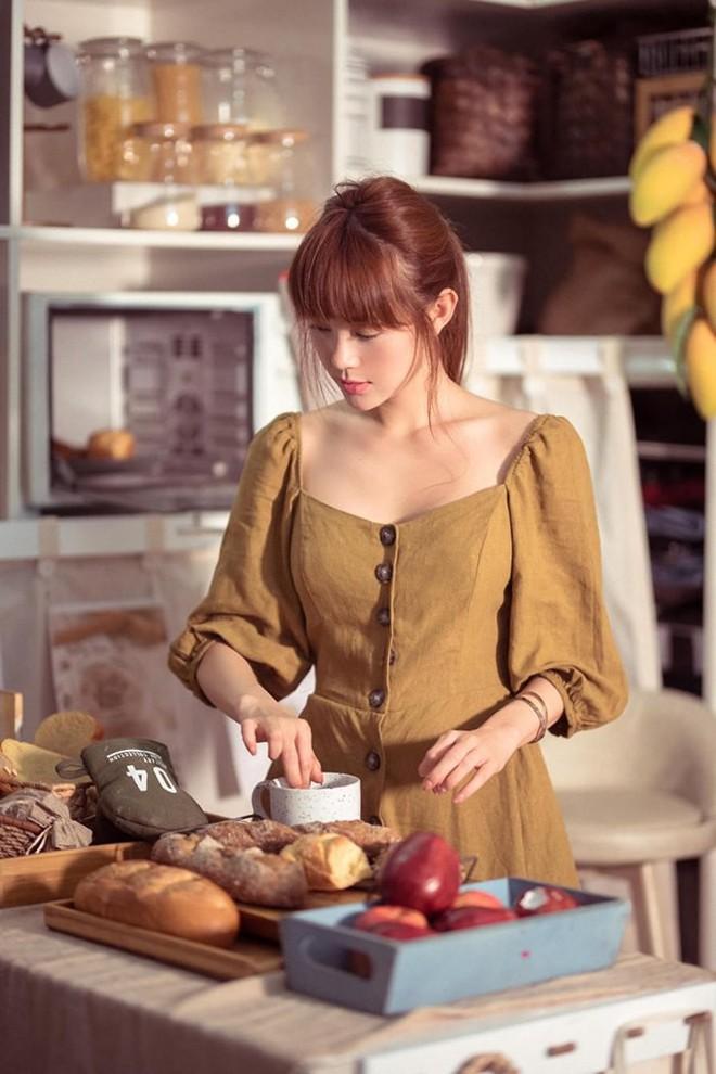 Minh Hằng khoe vẻ đẹp mong manh, trong veo trong loạt ảnh mới, khó ai tin đã bước qua tuổi 30 - ảnh 4