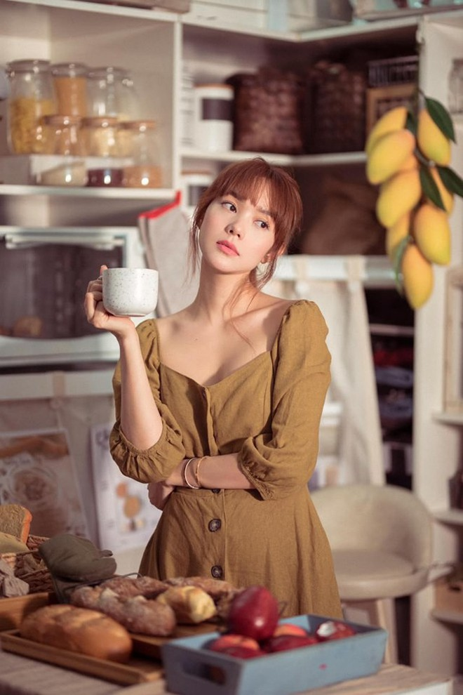 Minh Hằng khoe vẻ đẹp mong manh, trong veo trong loạt ảnh mới, khó ai tin đã bước qua tuổi 30 - ảnh 3