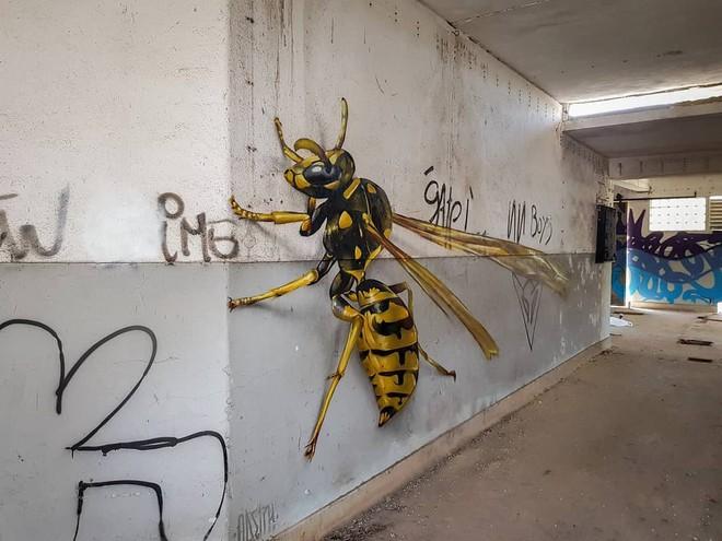 Những bức tường vô hồn hóa tuyệt tác qua đôi tay tài hoa của người nghệ sĩ khiến người xem trầm trồ - ảnh 7