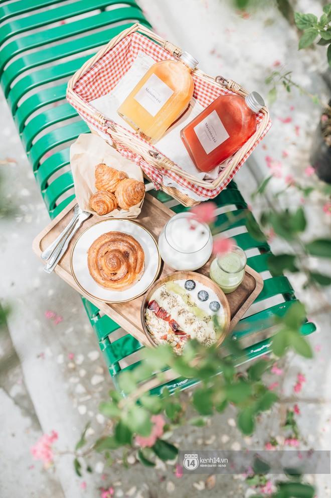 """Hai quán nước ép và tiệm bánh mới toanh ở Hà Nội, liền kề nhau tạo thành hẻm """"sống ảo"""" xinh xẻo như bên Hàn - ảnh 20"""