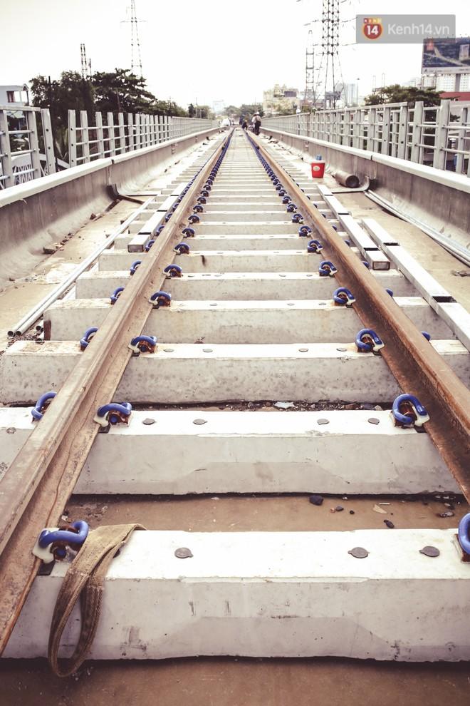 Cận cảnh cầu sắt Bình Lợi mới gần 500 tỉ đồng, sẵn sàng cho tàu hỏa Bắc - Nam chạy thử vào đầu tháng 9/2019 - ảnh 7