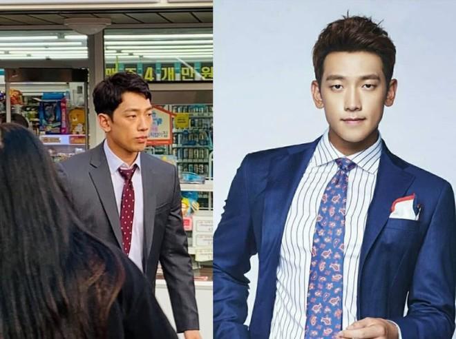 Kim Tae Hee bầu bí tháng cuối thai kỳ, Bi Rain vẫn vất vả quay phim đến xanh xao cố kiếm thêm tiền bỉm sữa? - ảnh 4