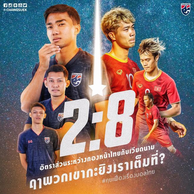 Fanpage tuyển Thái Lan tuyên bố bắn hạ tuyển Việt Nam nhưng sai ngay từ chi tiết đầu tiên vì cả tin - ảnh 1