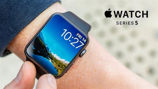 Bắt được hình ảnh rò rỉ đầu tiên về Apple Watch Series 5, màn hình cong tràn hơn đáng kể - Ảnh 2.