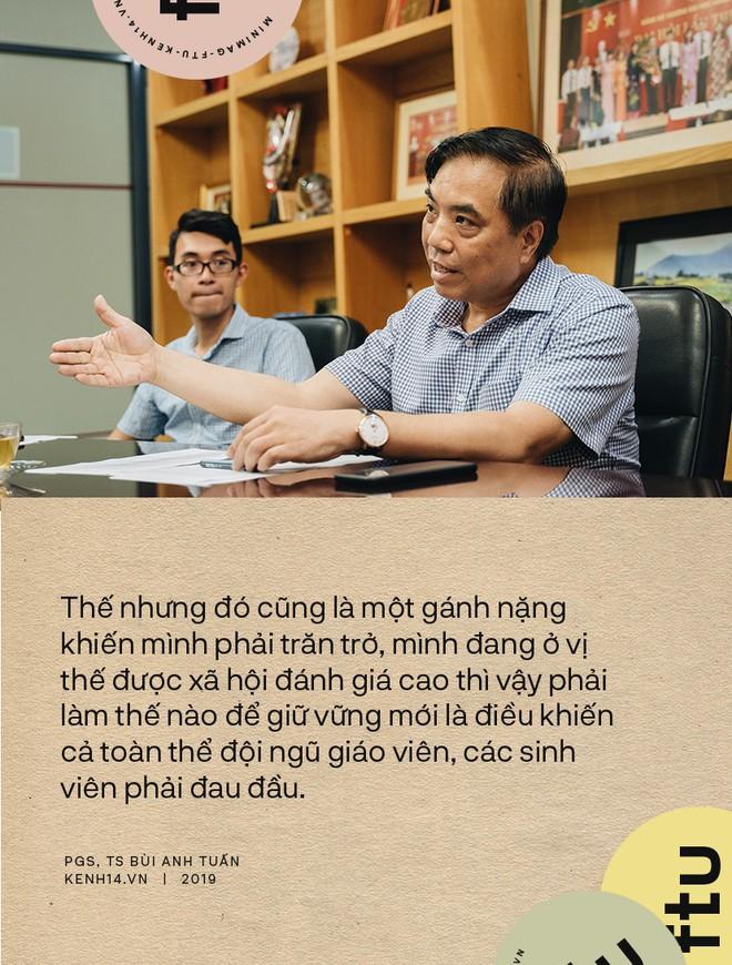 """Hiệu trưởng ĐH Ngoại thương: Tự hào là """"Harvard Việt Nam"""", sinh viên tốt nghiệp có quyền được đòi hỏi mức lương cao, xứng đáng - ảnh 1"""