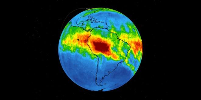 NASA tiếp tục công bố hình ảnh gây sốc về hậu họa của cháy rừng Amazon: Vấn đề đã vượt tầm châu lục! - Ảnh 2.