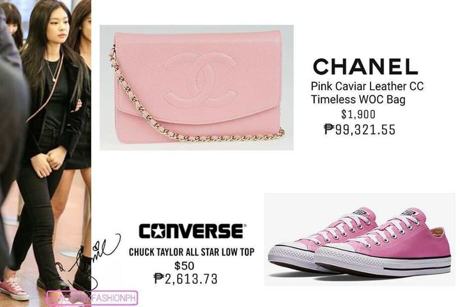 Jennie đúng là điệu nhất Black Pink: chọn túi cũng phải tông xuyệt tông với trang phục mới chịu - ảnh 9