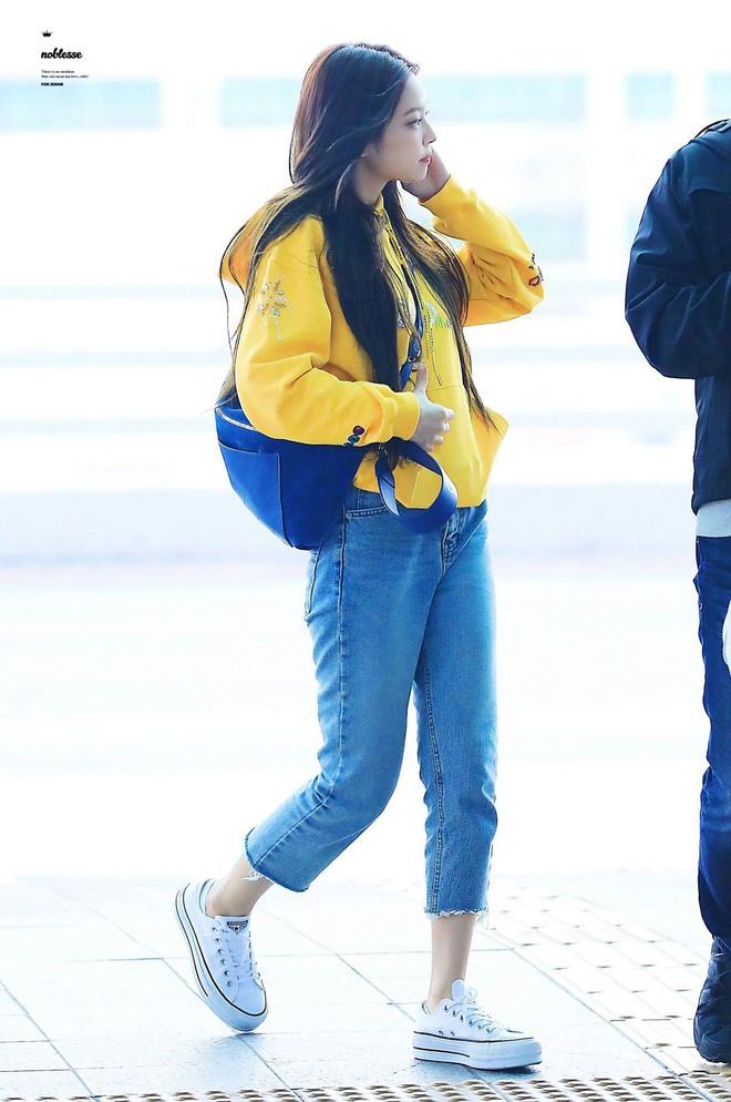 Jennie đúng là điệu nhất Black Pink: chọn túi cũng phải tông xuyệt tông với trang phục mới chịu - ảnh 5