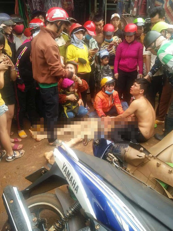 Hàng trăm người vây xe CSGT vì cho rằng truy đuổi gây tai nạn - ảnh 2