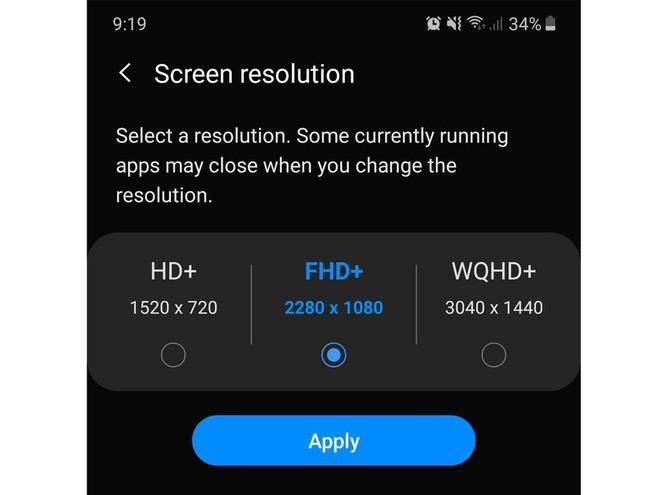 Có màn hình xịn sò, sắc nét nhưng tại sao độ phân giải mặc định trên smartphone Samsung lại thấp? - ảnh 2