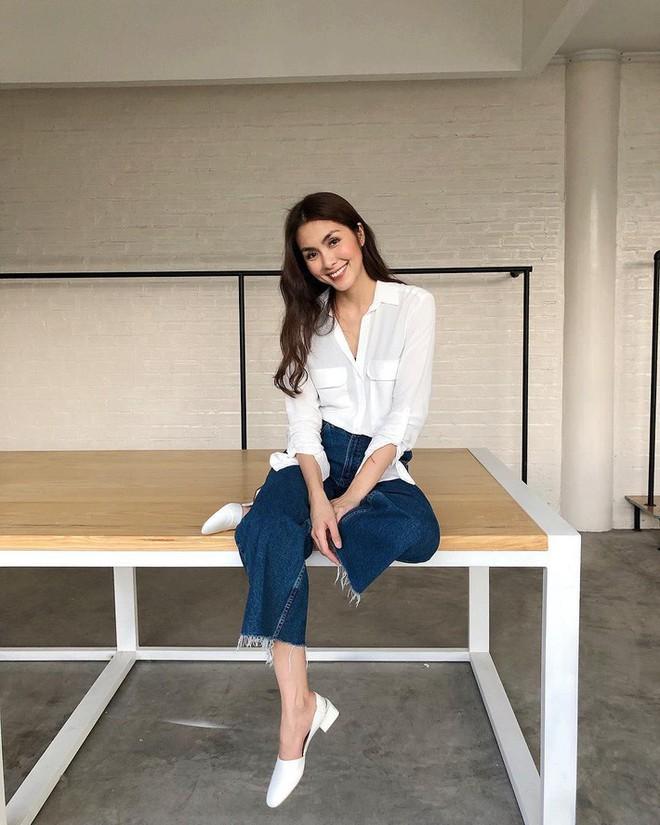 """Đối lập như Hà Tăng và Hoa hậu Thu Thảo: Cùng mê áo trắng nhưng người đậm chất công sở, người lại hack"""" tuổi tài tình - ảnh 6"""