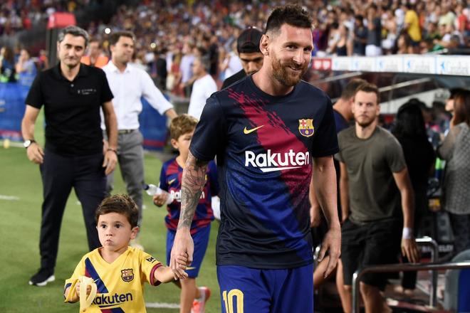 Messi phấn khích ra mặt khi chứng kiến người đóng thế mình lập cú đúp giải cứu Barca - ảnh 1