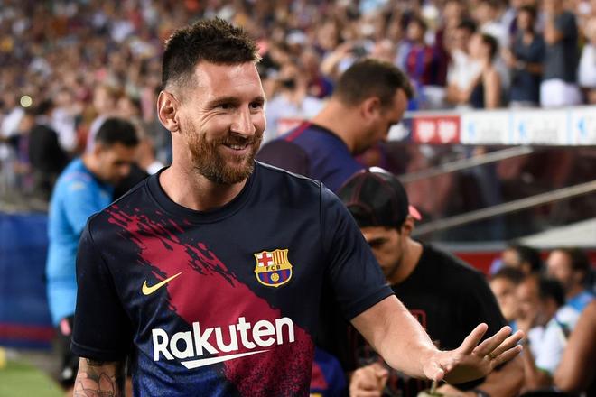 Messi phấn khích ra mặt khi chứng kiến người đóng thế mình lập cú đúp giải cứu Barca - ảnh 2
