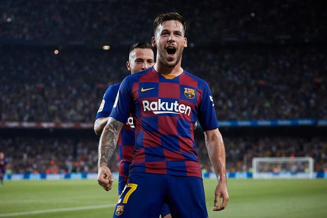 Messi phấn khích ra mặt khi chứng kiến người đóng thế mình lập cú đúp giải cứu Barca - ảnh 9