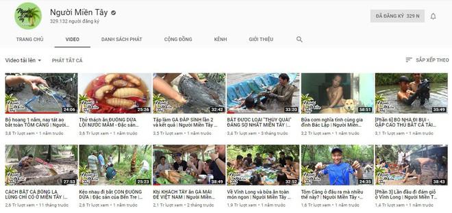 5 kênh du lịch - ẩm thực hot nhất miền Tây: Khoai Lang Thang sắp đạt nút vàng, một YouTuber trẻ tuổi khác đã làm được điều đó từ lâu - ảnh 55