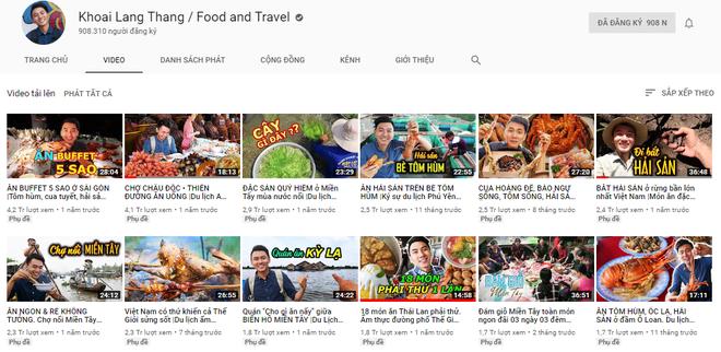 5 kênh du lịch - ẩm thực hot nhất miền Tây: Khoai Lang Thang sắp đạt nút vàng, một YouTuber trẻ tuổi khác đã làm được điều đó từ lâu - ảnh 6