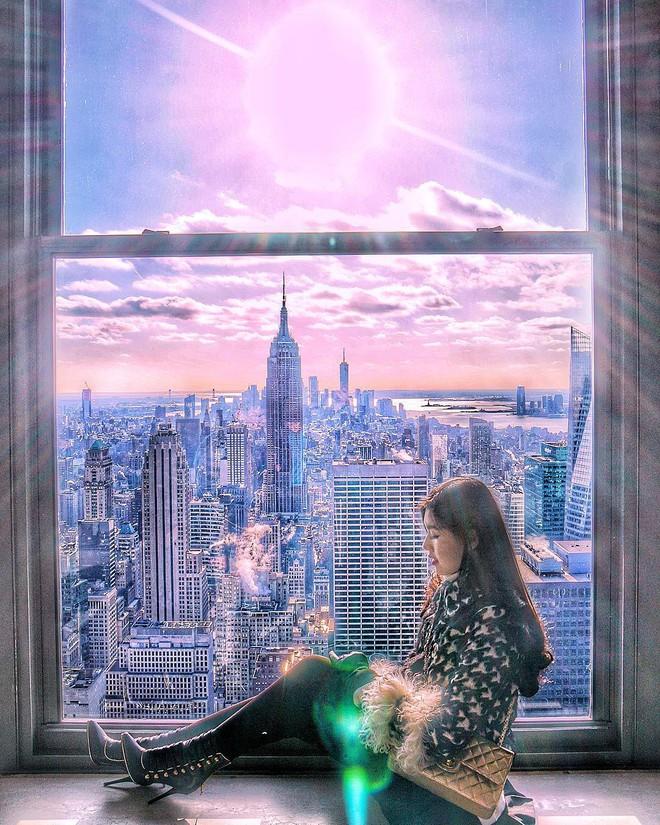 Tiểu Giang và Claret Giang Lê: 2 nàng rich kid với gu chỉnh ảnh du lịch màu mè, táo tợn bất chấp cả không gian và thời gian - ảnh 6