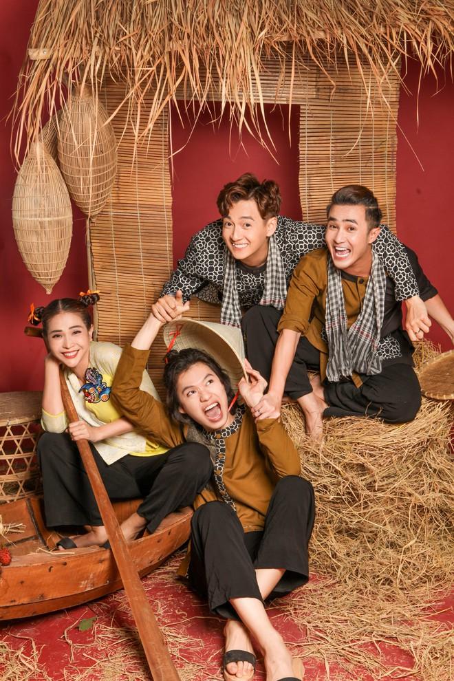 Ngô Kiến Huy, Huỳnh Lập, Khả Như, Quang Trung đại náo miền Tây trong series du lịch mới toanh - ảnh 1