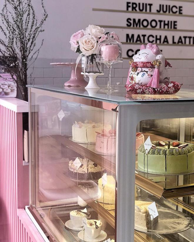 Vô vàn quán xinh màu hồng ở Việt Nam nhưng Ngọc Trinh lại đặc biệt ưa thích tiệm bánh này, còn ghé 2 lần dù cách xa… 1500 km - ảnh 7