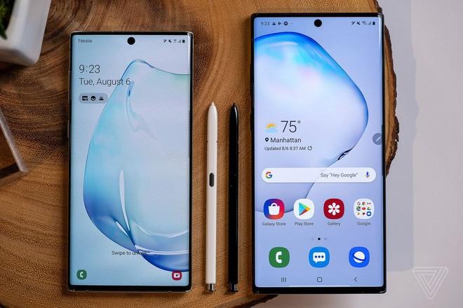 Samsung Galaxy Note 10/Note 10+ lộ diện cực khủng: Màu halo độc nhất, màn hình rộng ngút ngàn, giá từ 22 triệu - Ảnh 1.