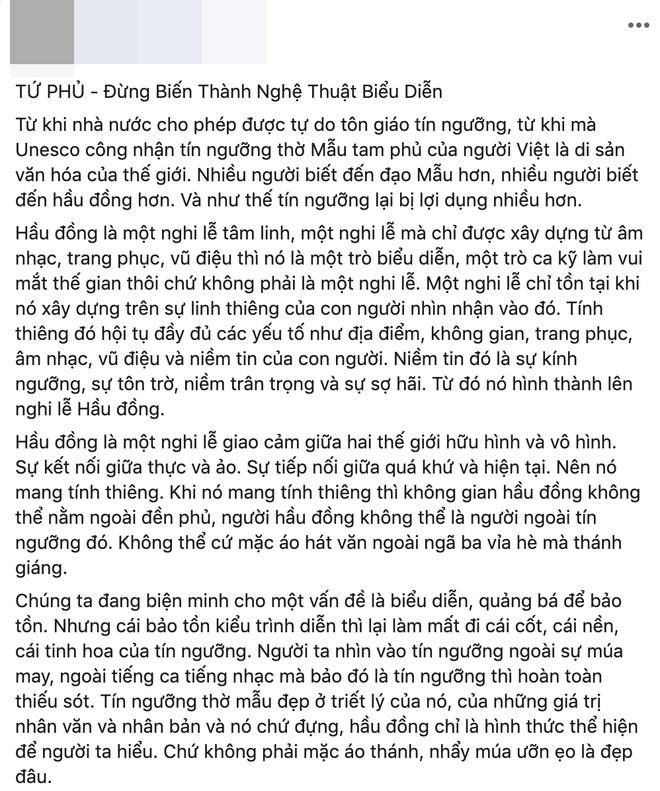 Những người hiểu biết tín ngưỡng thờ Mẫu nói gì về MV Tứ Phủ của Hoàng Thùy Linh? - Ảnh 3.