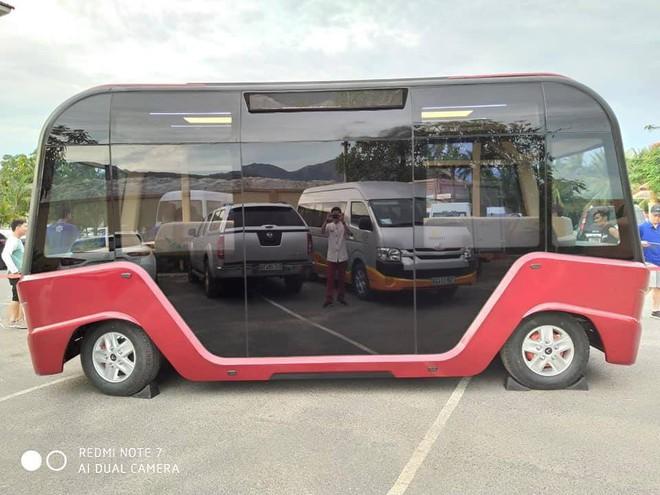 Xuất hiện hình ảnh được cho là chiếc xe buýt của VinFast với thiết kế đến từ tương lai - ảnh 2