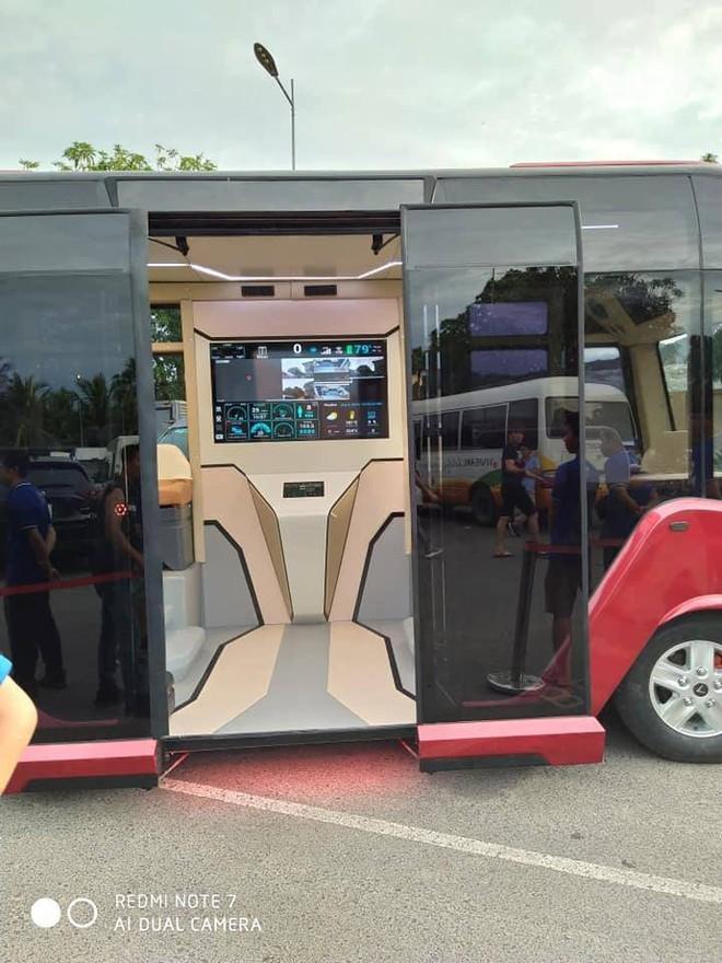 Xuất hiện hình ảnh được cho là chiếc xe buýt của VinFast với thiết kế đến từ tương lai - ảnh 3