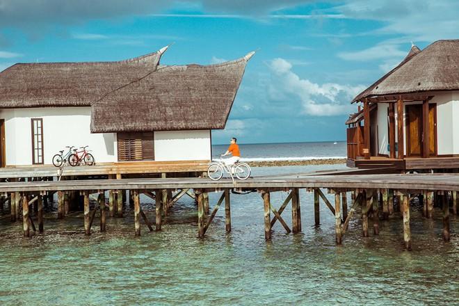 """Hot: Ông bầu Vũ Khắc Tiệp ra vlog mới, chi hẳn nửa tỉ thuê khách sạn sang chảnh nhất Maldives để ở """"sương sương"""" - ảnh 4"""