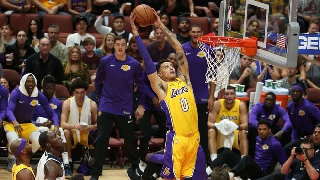 Kẻ ở lại Kyle Kuzma khẳng định sẽ trở thành ngôi sao thứ 3 của Lakers - ảnh 2