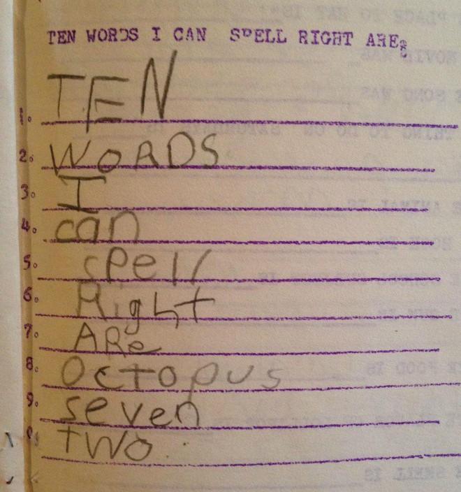 """20 câu trả lời bá đạo trong bài kiểm tra chỉ những đứa trẻ """"thiên tài"""" mới có thể nghĩ ra - ảnh 11"""