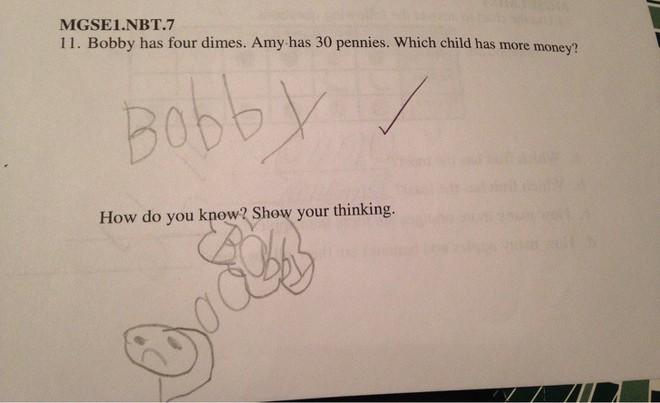 """20 câu trả lời bá đạo trong bài kiểm tra chỉ những đứa trẻ """"thiên tài"""" mới có thể nghĩ ra - ảnh 13"""