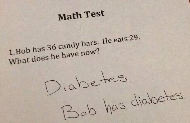 """20 câu trả lời bá đạo trong bài kiểm tra chỉ những đứa trẻ """"thiên tài"""" mới có thể nghĩ ra - ảnh 14"""