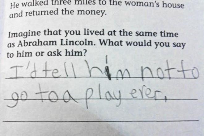 """20 câu trả lời bá đạo trong bài kiểm tra chỉ những đứa trẻ """"thiên tài"""" mới có thể nghĩ ra - ảnh 19"""