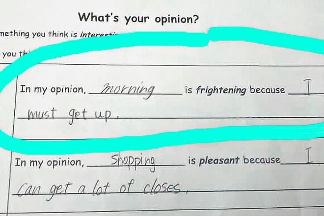 """20 câu trả lời bá đạo trong bài kiểm tra chỉ những đứa trẻ """"thiên tài"""" mới có thể nghĩ ra - ảnh 4"""