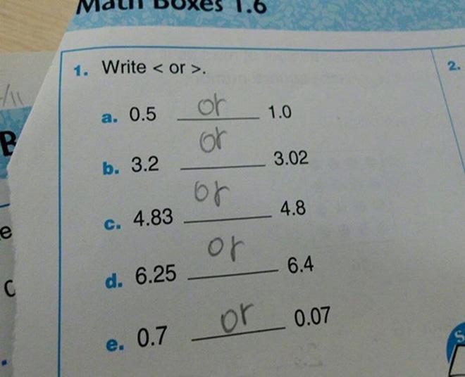 """20 câu trả lời bá đạo trong bài kiểm tra chỉ những đứa trẻ """"thiên tài"""" mới có thể nghĩ ra - ảnh 6"""