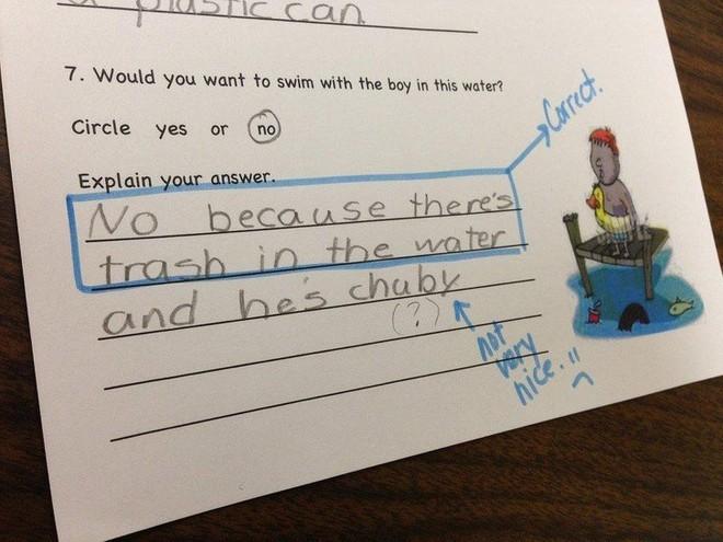"""20 câu trả lời bá đạo trong bài kiểm tra chỉ những đứa trẻ """"thiên tài"""" mới có thể nghĩ ra - ảnh 9"""