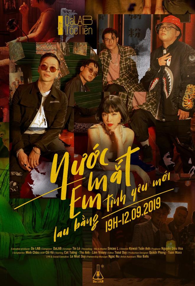 Teaser MV của Da LAB và Tóc Tiên: Dự báo drama ngập trời, kèm một câu hát ballad nao lòng - Ảnh 7.