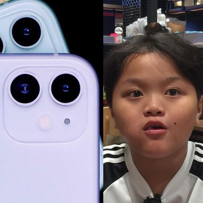 Cụm camera 3 ống kính như trò đùa của iPhone 11 được lấy cảm hứng từ cậu bé sún răng học lớp 4 ở Bạc Liêu? - ảnh 1