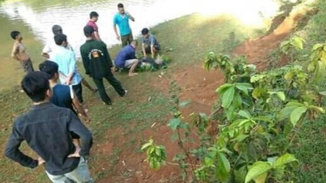 Hòa Bình: Bàng hoàng phát hiện thi thể người đàn ông nổi trên mặt hồ - ảnh 1