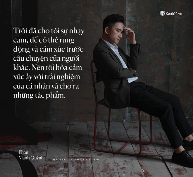 """Phan Mạnh Quỳnh: """"Nhạc của tôi giàu hình ảnh, vì tôi luôn mơ ước được làm phim - ảnh 4"""