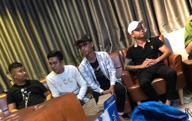 Nhóm dân chơi tổ chức tiệc ma túy trong quán cà phê ở trung tâm Sài Gòn - ảnh 3