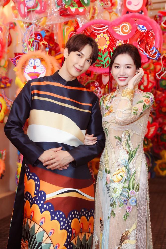 Không phải Trấn Thành, Hari Won bất ngờ tình tứ bên mỹ nam nhóm nhạc Kpop đình đám một thời trong bộ ảnh Trung Thu - ảnh 6