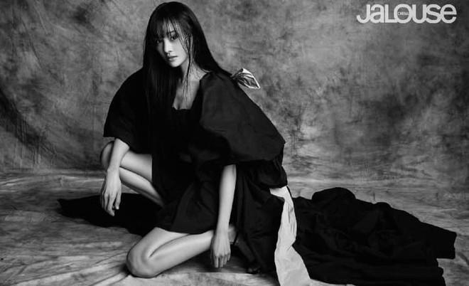 Lần đầu tiên trong sự nghiệp Trịnh Sảng chụp ảnh tạp chí thời trang: Nhan sắc và body đẹp nức nở giờ mới chịu hé lộ - ảnh 5