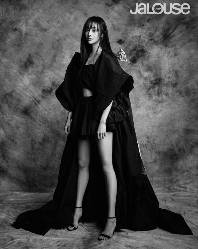 Lần đầu tiên trong sự nghiệp Trịnh Sảng chụp ảnh tạp chí thời trang: Nhan sắc và body đẹp nức nở giờ mới chịu hé lộ - ảnh 8