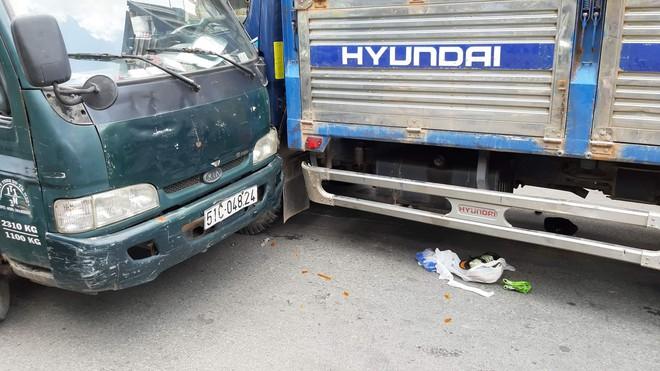 TP.HCM: Tài xế và phụ xe liên tục hét mất thắng trước khi gây tai nạn liên hoàn khiến 2 người bị thương nặng - ảnh 2