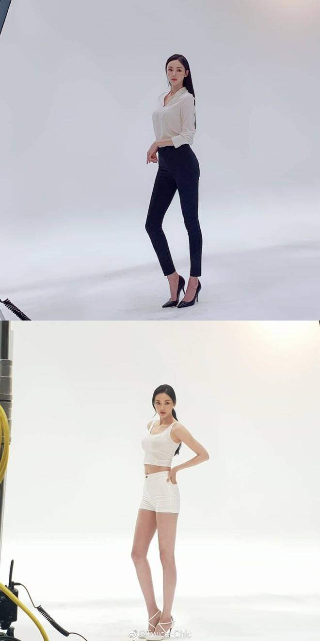 Body mỹ nữ xứ Hàn Lee Da Hee bật top No.1 Weibo: Tỷ lệ cơ thể hoàn mỹ từng cm, ảnh hậu trường đẹp đến nghẹt thở - Ảnh 2.