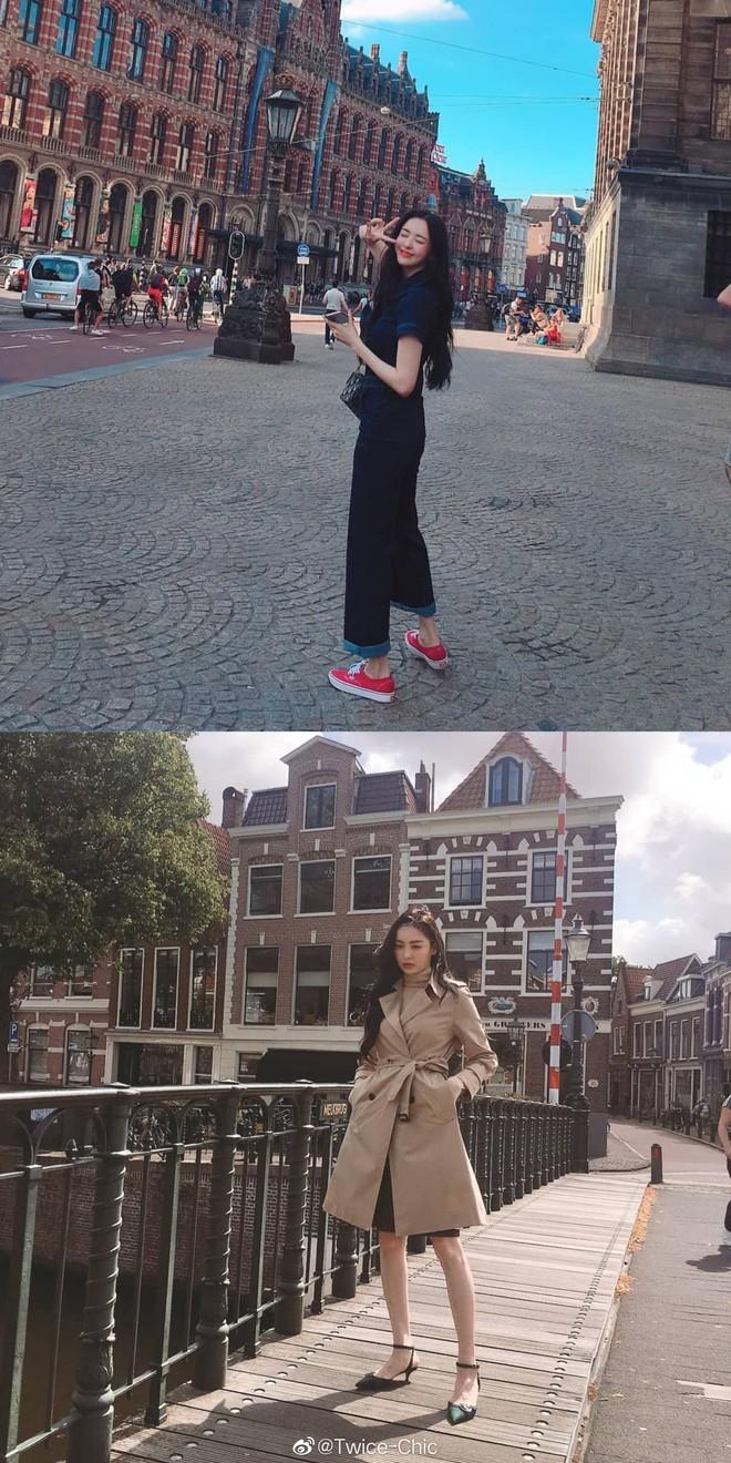 Body mỹ nữ xứ Hàn Lee Da Hee bật top No.1 Weibo: Tỷ lệ cơ thể hoàn mỹ từng cm, ảnh hậu trường đẹp đến nghẹt thở - Ảnh 4.