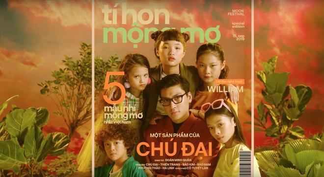 Chán sàn catwalk, Quang Đại cùng dàn siêu mẫu nhí lập thành nhóm nhạc, tung MV mới quẩy tưng bừng trong ngày Trung thu - ảnh 1